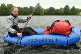 Training im Packraft