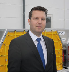 DoKaSch's Marcus Franke speaks of a clear market demand for lightweight containers in the range of 50 kilograms  -  pictures: hs