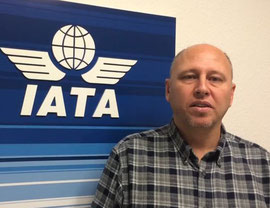 """Innovations are the key to our future success,"" states IATA Cargo's chief Glyn Hughes  /  courtesy IATA"