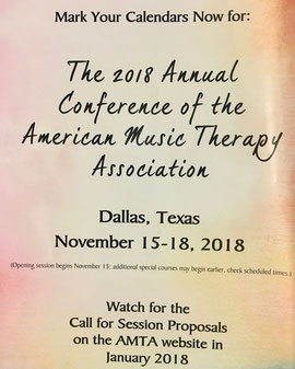 ↑ 2018年アメリカ音楽療法学会学術大会情報