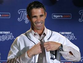 Nella foto Brad Ausmus nuovo Manager dei Detroit Tigers (Usatoday.com)