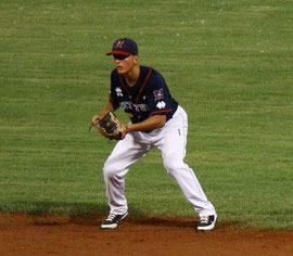 Mattia Mercuri gioca in Rookie League per i Braves