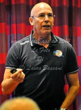 Nella foto Diego Azzolini (di Lauro Bassani)