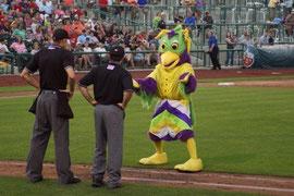 La mascotte BirdZerk (clicca sulla foto per andare al filmato)