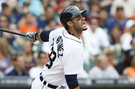 Nella foto J.D. Martinez (Foto Rick Osentoski-USA TODAY Sports)