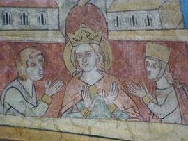Katharina von Alexandrien Lyskirchen Benjamin Marx Fresko Lyskirchen