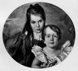 Gertrud (Trudel) Simms geb. 1898,  gest. 1974 Herbert Simms geb. 1903, gest. 1962