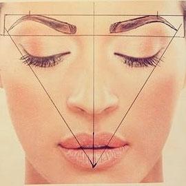 Augenbrauen färben zupfen Styling