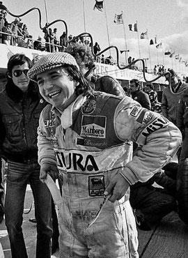 Geschafft! Die erste Pole Position für Bruno!