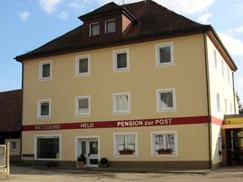 Pension Metzgerei Held in Bach an der Donau