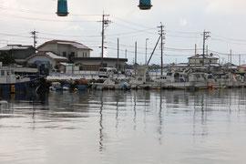 冬の海 金石港