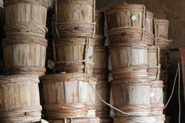 油与商店 漬物用木桶