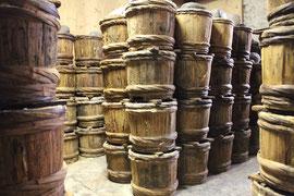 油与商店 漬物木桶
