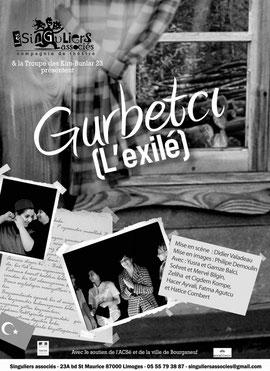 """Affiche du spectacle """"Gurbetci"""""""