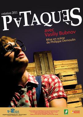 """Affiche du spectacle """"Pataquès"""""""