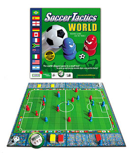 Soccer Tactics World - game box and board
