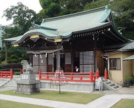 白幡八幡大神の拝殿
