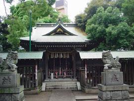 市ノ坪神社の拝殿
