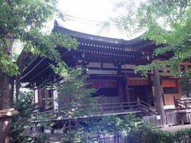 奥澤神社の社殿