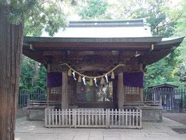 碑文谷八幡宮の拝殿