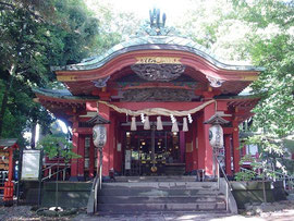 雪ヶ谷八幡神社の拝殿
