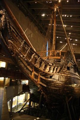 大きなヴァーサの船体