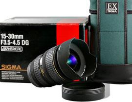 Sigma AF 15-30/3.5-4.5 EX DG