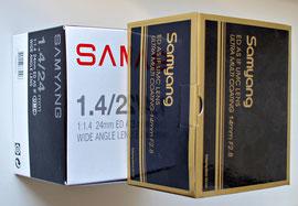 Старый и новый дизайн коробок