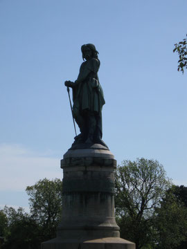 Denkmal des Vercingetorix bei Alesia