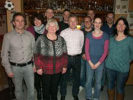 Der neue Vorstand des SVA- Gesamtvereins.