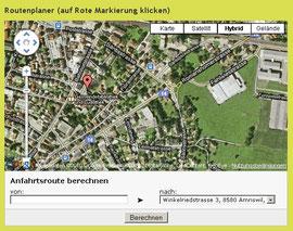 Routenplanung zu Ihrem Standort