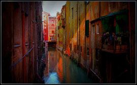 Canale delle Muline in Bologna, Italien