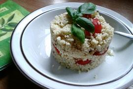 Couscous Salat (mal ohne Mais)