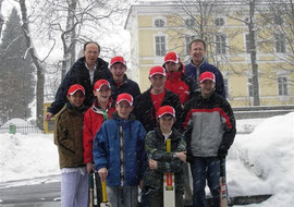 Swiss U15 indoor team in Tegernsee, Bavaria 2006