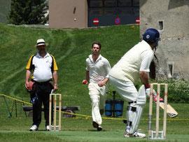International Cricket Festival, Zuoz 2013