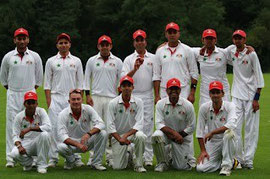 Swiss national squad in Amsterdam 2012