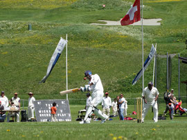 International Cricket Festival in Zuoz 2013