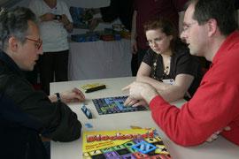 Blockers! auf dem 1. Pankower Spielefest