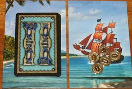 Ausbautafeln Insel & Piratenschiff