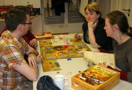 Stone Age auf dem 1. Pankower Spielefest