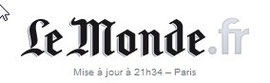 "Logo du site de journal ""Le Monde"""