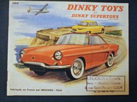 Catalogue Dinky Toys années 60