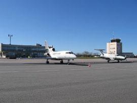 L'aéroport Cherbourg-Maupertus en 2012