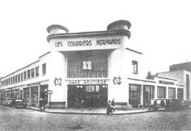 La gare routière de Caen (aujourd'hui détruite)