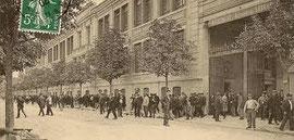 Usines Citroën à Levallois au 20ème siècle