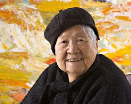 望月定子 88歳の時(1919~2008)