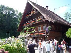 Hist. Ölmühle in Simonswald