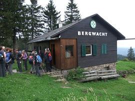 Bergwachthütte auf dem Kandel