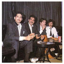 Los Chichos 1989 con Joaquin Sabina productor de Y esto es lo que hay