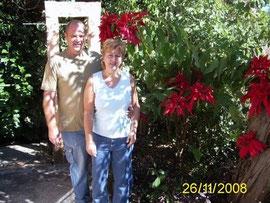 Marlene & Uwe in Laguna Santa Maria del Oro / Mexico
